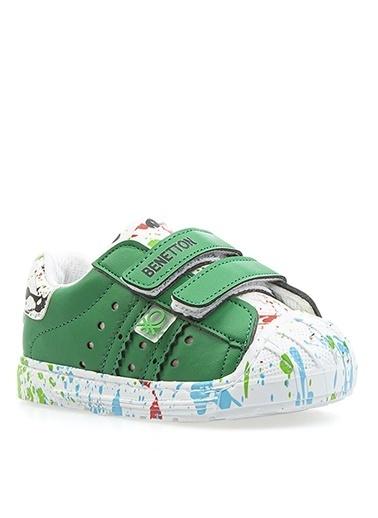 Benetton Benetton BN-1017 Yesil Erkek Yürüyüş Ayakkabısı Yeşil